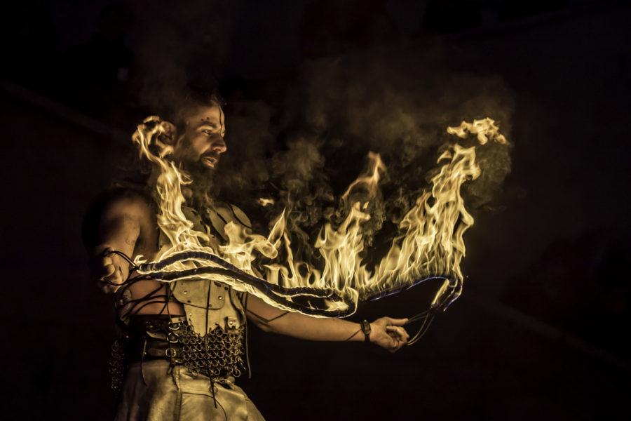 Behind an artist – Il drago bianco
